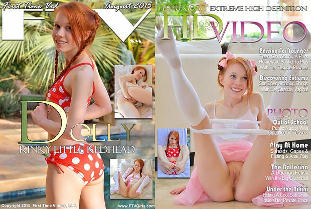 Kinky redhead public